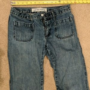 """Ladies low rise flare jeans size 6 waist 30"""""""
